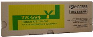 LASER TONER KYOCERA TK-594Y YELLOW
