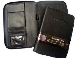 LOG BOOK COVER GBP BLACK