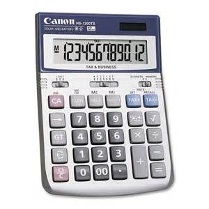 CALCULATOR CANON HS1200TS 122X170X35MM.