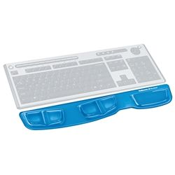 KEYBOARD GEL PALM SUPPORT FELLOWES BLUE