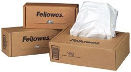 FELLOWES SHREDDER BAGS 22-26L 100PK