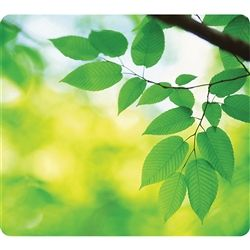 MOUSE PAD FELLOWES LEAVES RECYCLED