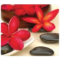 MOUSE PAD FELLOWES SPA FLOWERS RECYCLED