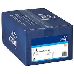 CROXLEY ENVELOPES C6 MANILLA PLAIN BX500