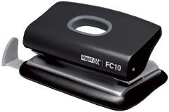 2 HOLE PUNCH FC10 BLACK 10 SHEET RAPID