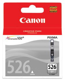 INKJET CARTRIDGE CANON CLI-526GY GREY