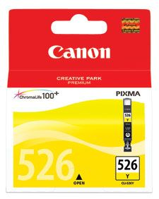 INKJET CARTRIDGE CANON CLI-526Y YELLOW