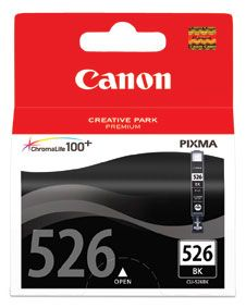 INKJET CARTRIDGE CANON CLI-526BK BLACK