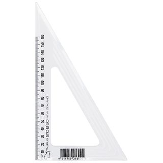 SET SQUARE TAURUS 210B60 210MM 60 DEGREE