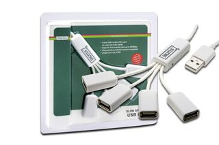 USB HUB DIGITUS DA-70216 4 PORT MINI