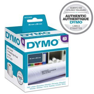 DYMO ADDRESS LABELS 99012 36X89MM BX/2