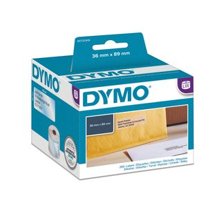 DYMO LABELS 99013 CLEAR 36X89MM BX/1
