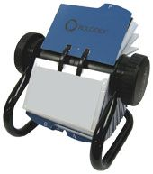 BUSINESS CARD ROTARY FILE ROLODEX