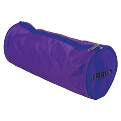 PENCIL CASE FLURO PURPLE CANVAS BARREL