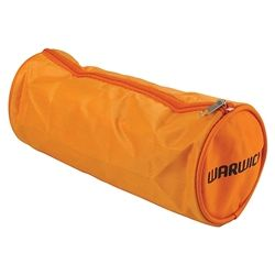 PENCIL CASE FLUORO ORANGE BARREL LARGE