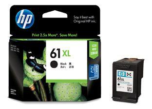 INKJET CARTRIDGE HP 61XL CH563WA BLACK