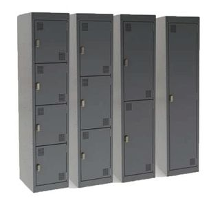 STORAGE LOCKER PROCEED GREY 2 TIER W375