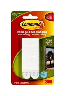 3M COMMAND PICTURE HANGING STRIPS LARGE