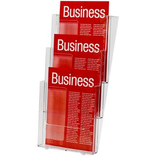 BROCHURE HOLDER ESSELTE CLEAR A4 3-TIER