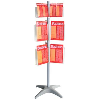 BROCHURE HOLDER CAROUSEL DL/A4 3 LEVEL