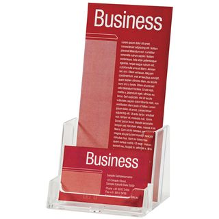 BROCHURE HOLDER ESSELTE CLEAR DL 1-TIER