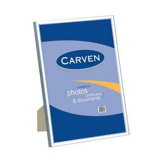 DOCUMENT FRAME CARVEN A4 SILVER