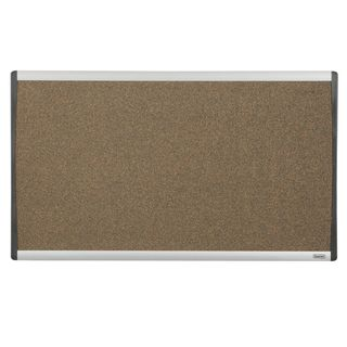 QUARTET ARC CUBICLE CORK BOARD 760X460MM