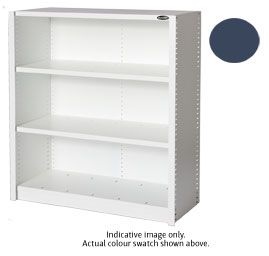 EUROPLAN PANEL SHELVING 3 LEVEL DUSK BLU