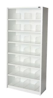 EUROPLAN PANEL SHELVING 7 LEVEL ICE WHIT
