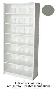 EUROPLAN PANEL SHELVING 7 LEVEL STONE GR