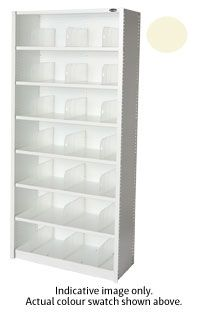 EUROPLAN PANEL SHELVING 7 LEVEL SCOTCH M