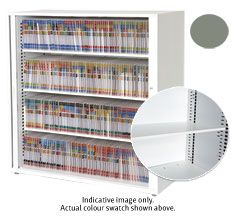 SHELF AND CLIPS FOR EUROPLAN SHELVING