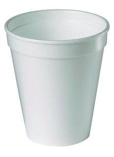 FOAM CUPS WHITE 250ML PKT/25