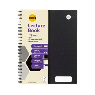 MARBIG ACCOHIDE LECTURE NOTEBOOK A4 70LF