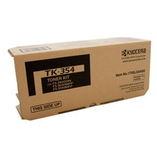 LASER TONER KIT KYOCERA TK-354 BLACK FOR