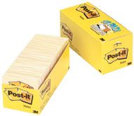 POST IT NOTES CABINET PACK 654 YELLOW