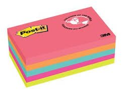 POST IT NOTES 655 CAPETOWN ASST PKT/5