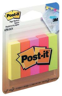 POST IT NOTES PAGE MARKERS 670 CAPETOWN