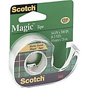 SCOTCH 105 MAGIC TAPE+DISP 19MMX7.62M.