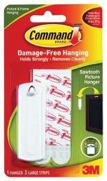PICTURE HANGER 3M COMMAND ADHESIVE 17040