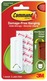 PICTURE HANGER 3M COMMAND ADHESIVE 17041