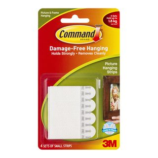 3M COMMAND PICTURE HANGING STRIPS SMALL