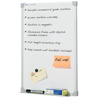 PREMIUM MAGNETIC WHITEBOARD 450 X 600MM