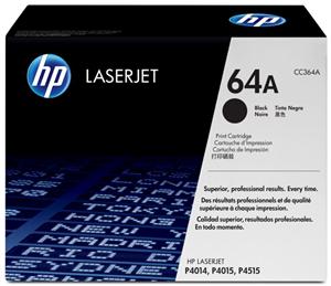 LASER TONER HP CC364A 64A BLACK