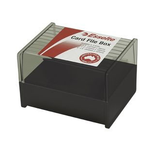 ESSELTE SWS SYSTEM CARD BOX 5 X 3""