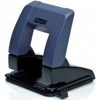 2 HOLE PUNCH RAPID SP20 BLACK 20 SHEET