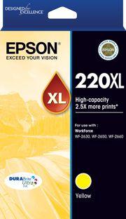 INKJET CARTRIDGE EPSON 220XL YELLOW
