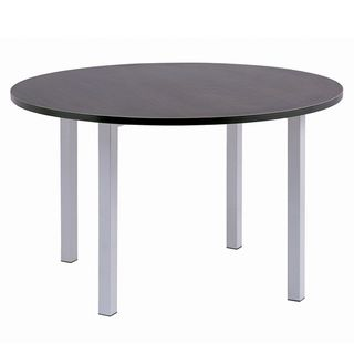 MEETING TABLE CUBIT DARK OAK 1200MM DIA