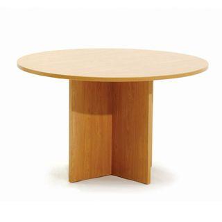 MEETING TABLE ERGOPLAN 1200MM DIA TAWA