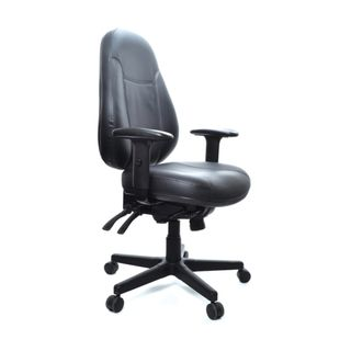 BURO PERSONA CHAIR LEATHER WTH ARMS